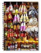 Condiments At Mercade Municipal Spiral Notebook