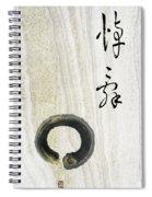 Condolences Tooji With Enso Zencircle Spiral Notebook