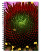 Coneflower - Little Yellow Spider Spiral Notebook
