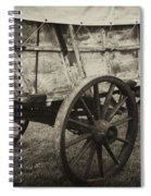 Conestoga Wagon Spiral Notebook