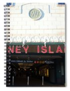 Coney Island Bmt Subway Station Spiral Notebook