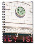 Coney Island Spiral Notebook