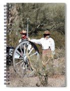 Confederate Battery Spiral Notebook