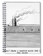 Confederate Ironclad, 1862 Spiral Notebook