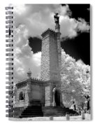 Confederate Resting Place Spiral Notebook