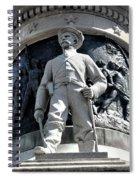 Confederate Soldier II Alabama State Capitol Spiral Notebook