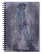 Soldier Statue Vii Alabama State Capitol Spiral Notebook