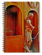 Confessional Halo Spiral Notebook