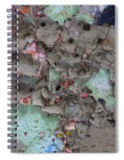 Confetti Graffiti Spiral Notebook