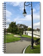 Confluence Park Binghamton Ny River Trail Spiral Notebook