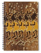 Conga Line Spiral Notebook