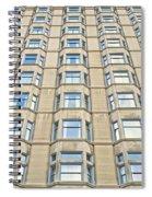 Congress Plaza Hotel Windows Spiral Notebook