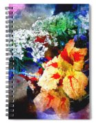 Conjuring Claude Monet Spiral Notebook