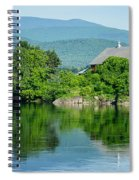 Connecticut River Farm II Spiral Notebook