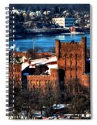 Connecticut Street Armory Winter 2013 Spiral Notebook