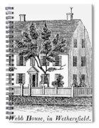 Connecticut Webb House Spiral Notebook