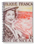 Connecting The Nice France 1860-1960 Spiral Notebook