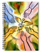 Connecting To Health Spiral Notebook