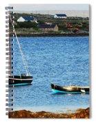 Connemara Boats Spiral Notebook