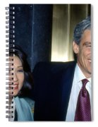 Connie Chung-maury Povich Spiral Notebook