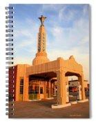 Conoco At Shamrock Spiral Notebook