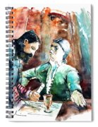 Conquistadores On The Boat In Vila Do Conde In Portugal Spiral Notebook