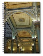Conservatory Illuminated Ceiling Spiral Notebook