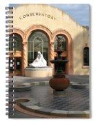 Conservatory Gardens Sunny Facade Spiral Notebook
