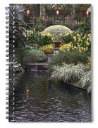 Conservatory In Autumn Spiral Notebook