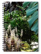 Conservatory Leaves Spiral Notebook