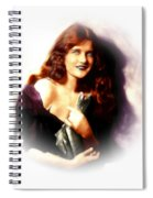 Constance Binney Spiral Notebook