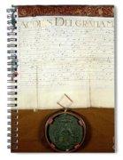 Constantijn Huygens Knighthood 1622 Spiral Notebook