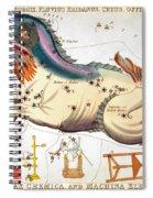 Constellation: Cetus Spiral Notebook