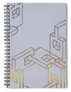 Construct Number Four Spiral Notebook