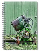 Construction - Cement Mixer Spiral Notebook