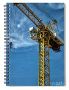 Construction Crane Asia Spiral Notebook