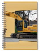 Construction Equipment 01 Spiral Notebook