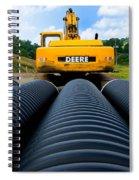 Construction Excavator Spiral Notebook