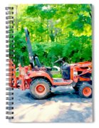 Construction Machinery Equipment 1 Spiral Notebook