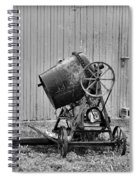 Construction - Vintage Cement Mixer Spiral Notebook