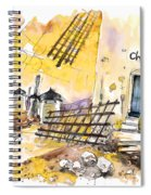 Consuegra 01 Spiral Notebook