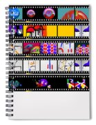 Contact Sheet Spiral Notebook
