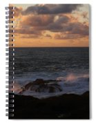 Contemplating In Paradise Spiral Notebook