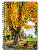 Contemplation Bench Spiral Notebook