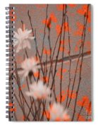 Contemporary Art - Butterfly Kisses - Luther Fine Art Spiral Notebook