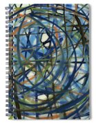 Contemporary Art Seventeen Spiral Notebook
