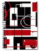 Contemporary Design Spiral Notebook