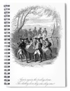 Continental Army Band Spiral Notebook
