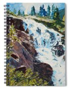 Continental Falls Spiral Notebook
