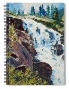 Continental Falls Spiral Notebook